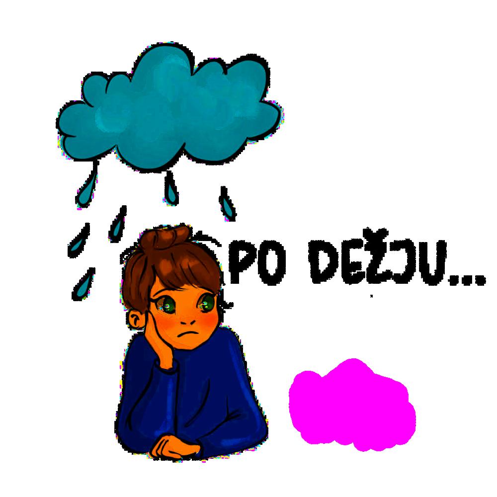 Ilustracija po dežju